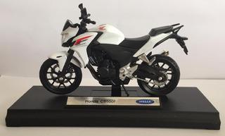 Miniatura Moto Honda Cb500f 1:18