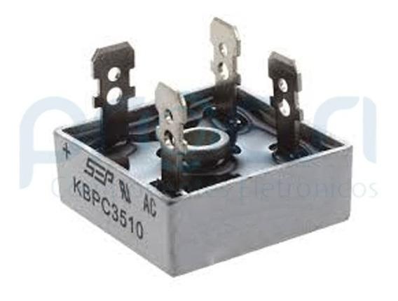 Kbpc3510 - Ponte Retificadora Monofásica 35a / 1000v