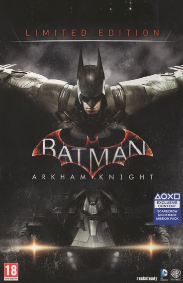 Batman Arkham Knight - Pc Mídia Digital