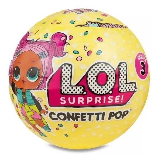 Boneca Lol - Confetti Pop - 9 Surpresas - Sortido