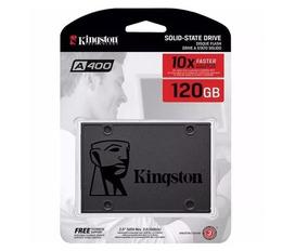 Hd Ssd 120gb Sata 3 Kingston A400 - 500 Mb/s (10x + Rápido)