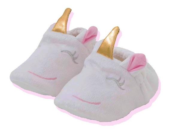 Pantuflas Para Bebe Bota Super Calientitas Unicornio