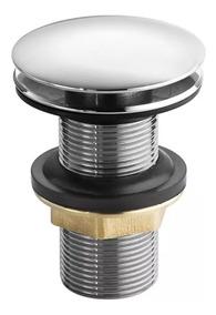 Válvula Click Up Para Lavatório 7/8 3cm (tampa Maior)