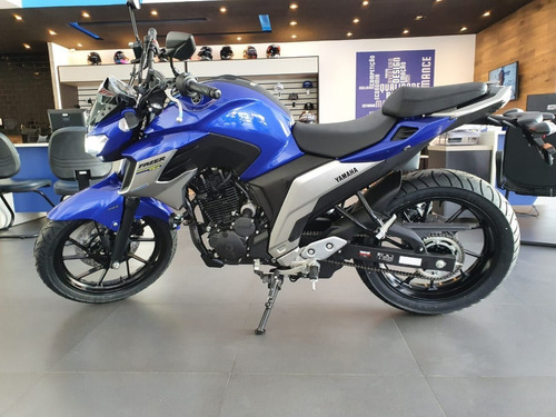 Imagem 1 de 11 de Yamaha Fz Fazer 250 Abs Azul