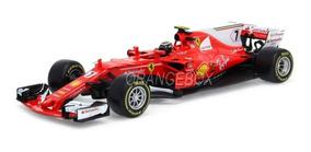 Fórmula 1 Ferrari Sf70h N7 Kimi Räikkönen 2017 1:18