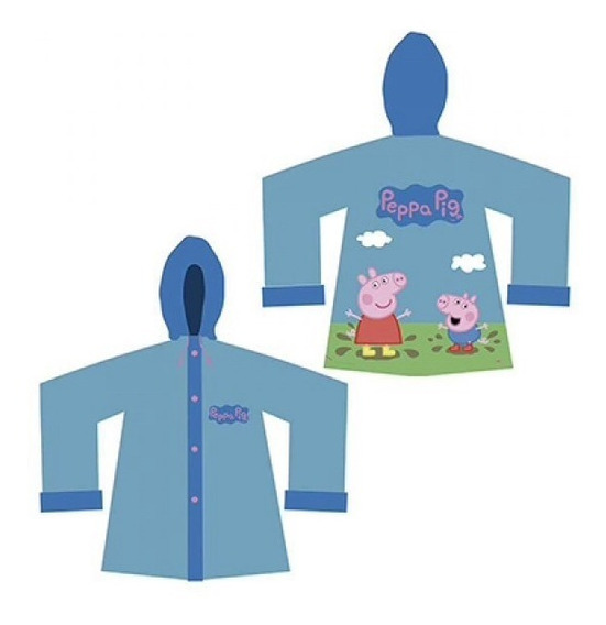 Piloto Infantil Lluvia Peppa Pig Original Licencia Oficial