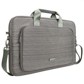 Maletín Evecase Classic Acolchado P/laptop Chromebook 17.3in