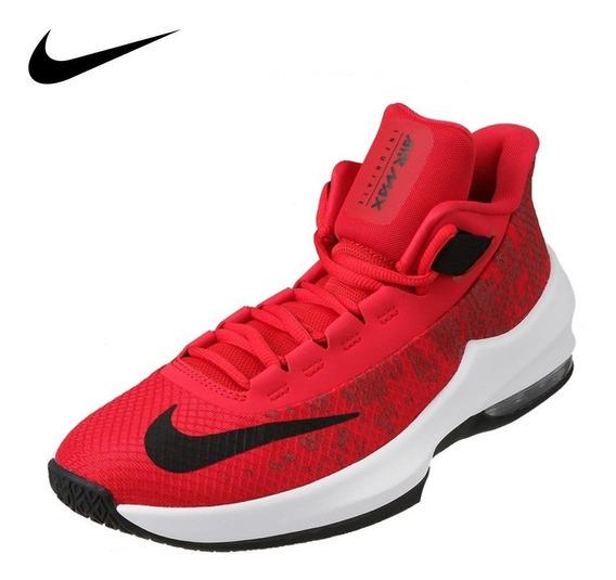 Nike Kids Basketball Air Max Infuriate 2 Mid Del23.5al25 Ah3426 600 Facturamos