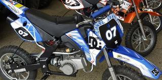 Mini Moto Cross St-db49h - Azul