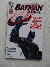 Batman Anual Nº 3! Panini! Abril 2011!