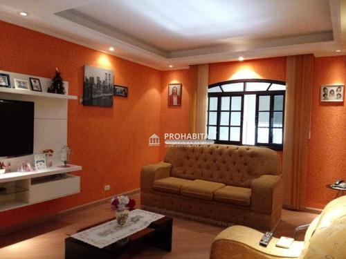 Sobrado Residencial À Venda, Vila São José, São Paulo. - So2649