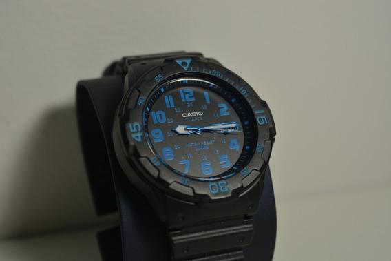 Relógio Casio Mrw-200h-2bvcf Azul