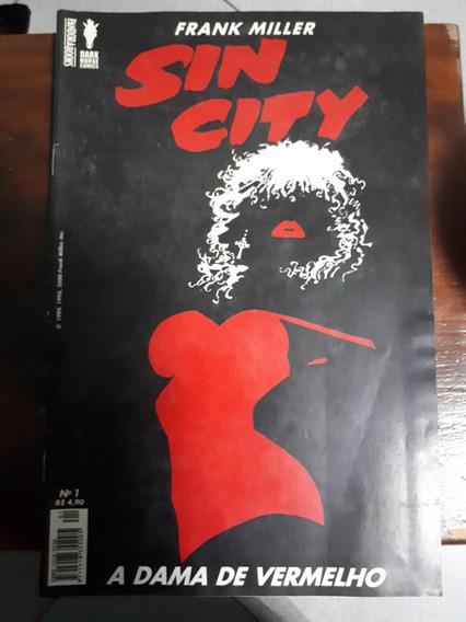 Sin City Dama De Vermelho Pandora Books Frank Miller Cx 04