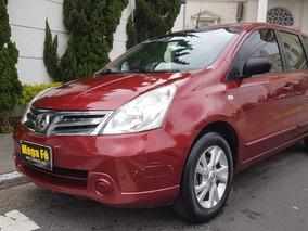 Nissan Livina 1.6 S Flex 5p 2013 Vermelho Completo
