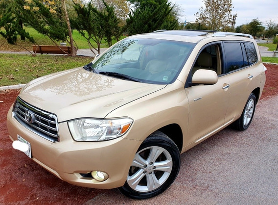 Toyota Highlander Limited Aa Qc Piel R-19 4x4 At 2010