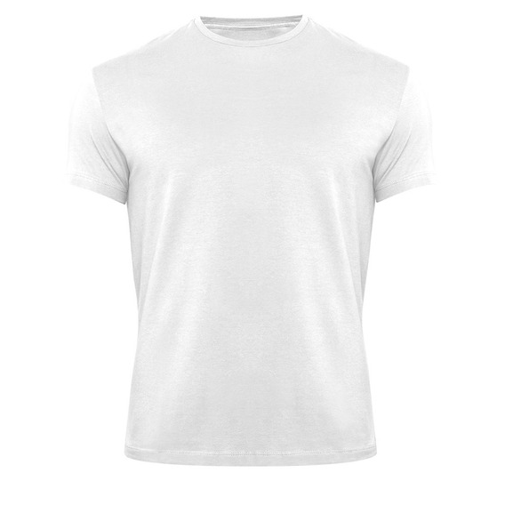 Kit 20 Camisetas 100% Poliéster Lisa Branca Frete Gratis
