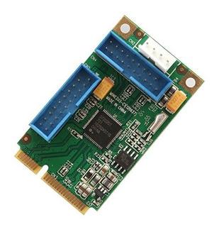 Io Crest Sdmpe20215 Mini Pciexpress Usb 30 Tarjeta Controlad