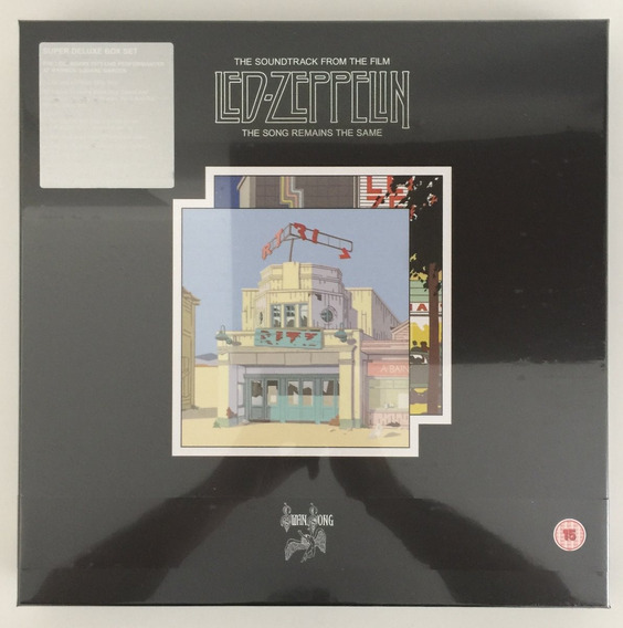 Led Zeppelin The Song Remains The Same Super Deluxe Edition