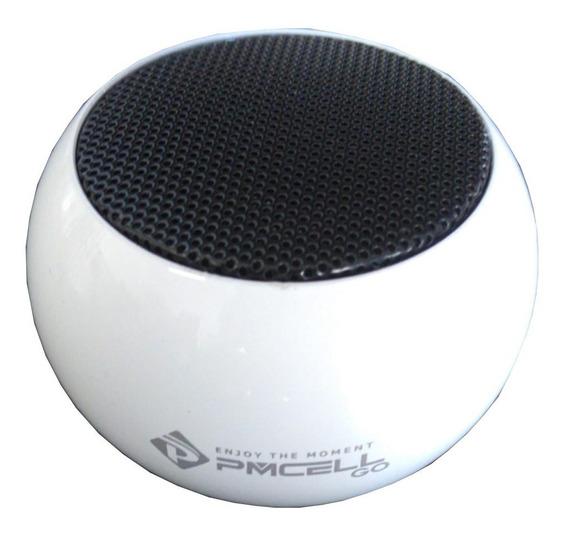 Caixa De Som Bluetooth Cs12 Pmcell Original 10w De Potencia