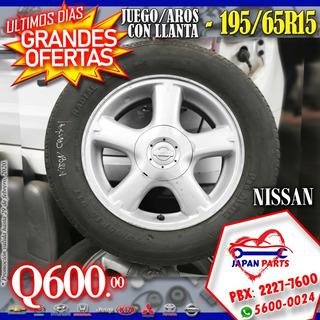 Juegos De Aros - Honda, Nissan, Kia, Mazda, Chevrolet