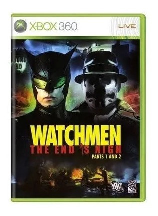 Cd Watchmen The End Is Nigh Parts 1 And 2 Xbox 360 Original