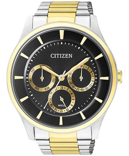 Relógio Masculino Citizen Multifunção Bicolor Tz20608p