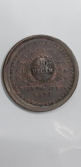 Moneda De 10/10 Reales Año 1830 ( Hermosa Pieza)