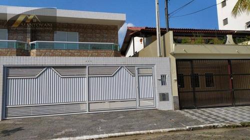 Imagem 1 de 20 de Sobrado À Venda, 138 M² Por R$ 620.000,00 - Vila Guilhermina - Praia Grande/sp - So0168