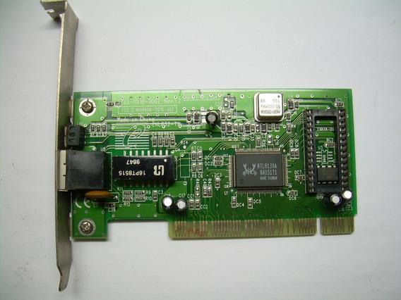 Placa De Rede Pci 10/100mbps (usado)