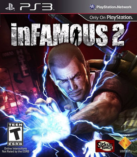 Infamous 2 Ps3 Fisico Usado