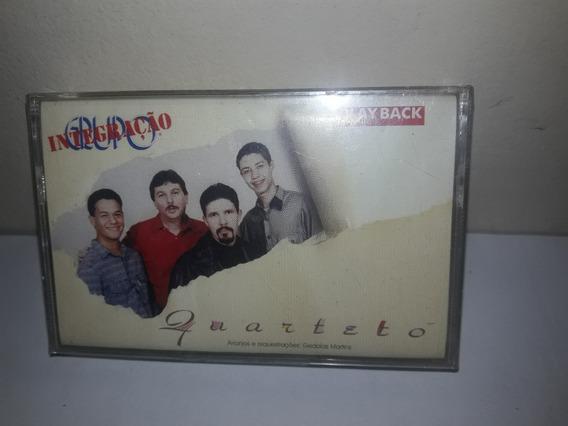 Fita K7 Grupo Integraçâo Quarteto Lacrada De Fábrica