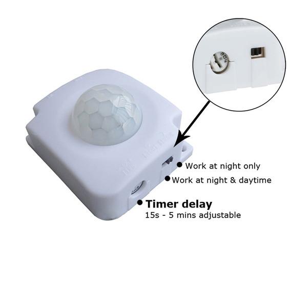 Sensor De Movimento Infravermelho 5v A 24v