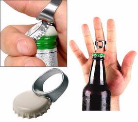 10 Anel Abridor Garrafas Aço Inox Garçom Cerveja Bar Barato