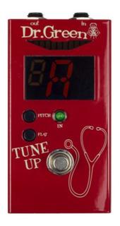 Afinador Pedal Ashdown Dr Green Tune Up True Bypass Excelent