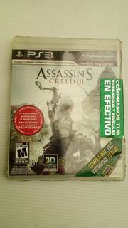 Videojuego Para Play - Ps3, Assassins Creed 3. Juego Fisico