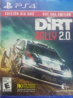 Dirt Rally 2.0 Ps4 Español Nuevo Sellado Delivery Stock Ya