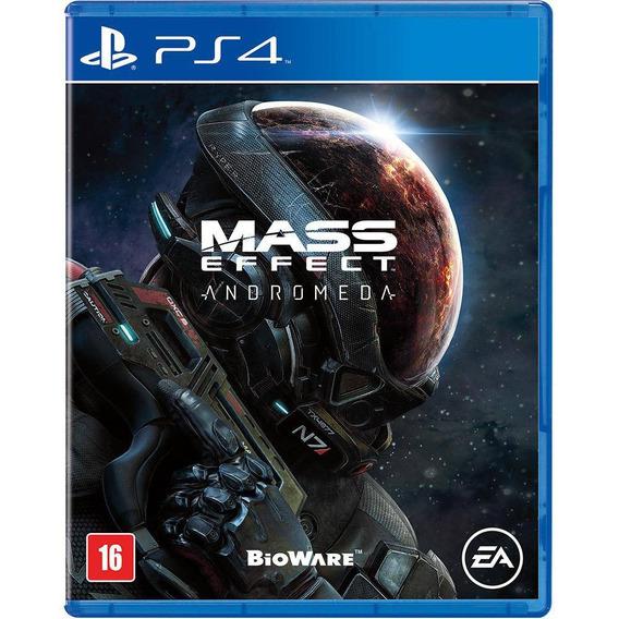 Mass Effect Andromeda Ps4 Midia Fisica Novo Português Barato