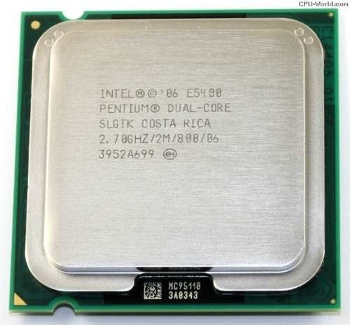 Processador Intel Dual Core Pentium E5400 - 2.7ghz / 800