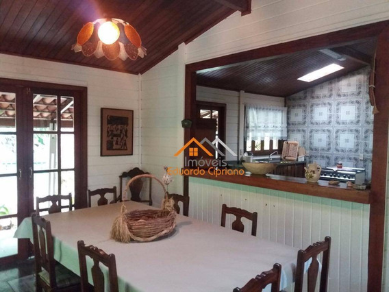 Casa Com 4 Dormitórios À Venda, 222 M² Por R$ 490.000 - Massaguaçu - Caraguatatuba/sp - Ca0021
