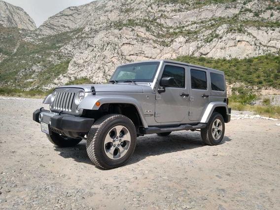 Jeep Wrangler 2018 3.7 Unlimited Sahara 3.6 4x4 At
