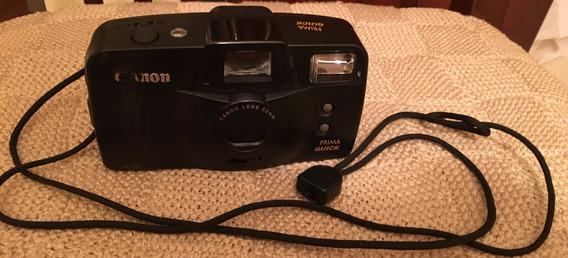 Câmera Máquina Fotográfica Antiga Canon, Analógica+ Brinde