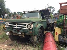 Camión Dodge Con Volcadora