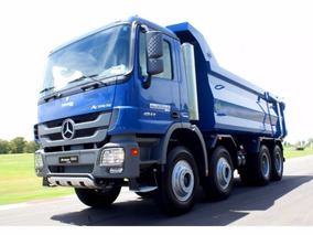 Mercedes Benz Actros 4844 Color Azul 8x4 Entrega Ya.....