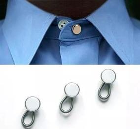 4 Extensor Botão De Colarinho Para Camisa Original + Brinde