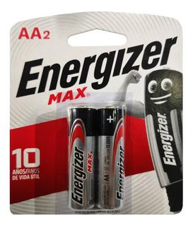 Pilas Alkalina Aa Energizer Max Uso Diario Alcalina