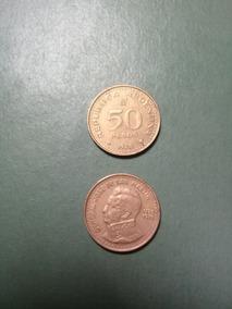 Moneda 50 Pesos Ley 18188