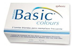Lentes De Contacto Basic Colors . Óptica Paesani