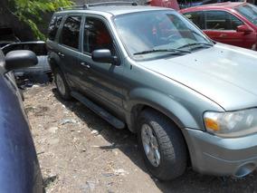 Ford Escape 6 Cilindros 3.0l 4x4 Por Partes