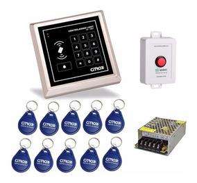 Kit Controle De Acesso Por Chaveiro De Aproximação Citrox.