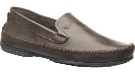 Sapato Pegada 540771-03 Dockside Couro Masculino